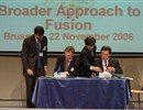 © European Community, 2006 - Signature of the Broader Approach agreement between the EU and Japan, 22 November 2006
