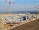 Construction of the Poloidal Field Coil Winding Facility progresses on the ITER site, February 2011