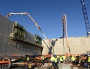 1st concrete pouring of the B2 Slab of the Tokamak complex - December 2013