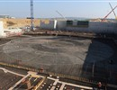 Close to 4,000 tonnes of steel will be used for the B2 slab
