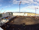 Pouring of the whole slab 9300 m2 area and 15 000 m3