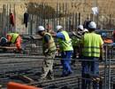 Reinforcement works on going ITER Tokamak building basemat