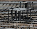 Steel plates to locate the embedded plates_robust anchorage for devices that need to be attached to the walls, floors,ceilings