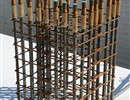 Starter rebars of busbar bridge piles