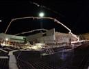 Night Concrete Pouring Plot 8 - B2 Slab 660 m2, 1000 m3