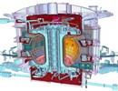 A cutaway view of the future ITER Tokamak. © ITER Organization