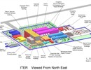 ITER site - graphic with legends