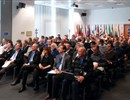 Experts during the plenary session of the Nuclear Safety meeting
