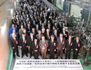 Policy-makers and scientists attending the installation ceremony of LIPAc, IFMIF/EVEDA, Rokkasho, Japan.