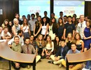 Group of students attending the BEST seminar hosted by the Polytechnic University of Catalonia