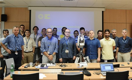 First training in metrology techniques takes place at F4E