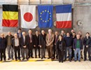 Representatives of the Broader Approach project with CEA management