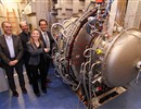 Representatives from F4E, IPP and ELISE attended the inauguration of the ELISE test facility in Garching, Germany