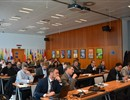 Representatives from different companies following the MITICA Beam source Information Day organised by F4E.