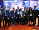The F4E Director, the ITER Director-General and the Heads of the ITER Domestic Agencies in China, Korea and Russia at the fusion exhibition at the 2017 World EXPO.