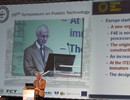 F. Briscoe, F4E Director, presented an update on Europe's contribution at SOFT 2010