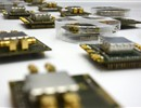 A sample of the electronic chips stemming from the collaboration between F4E, Oxford Technologies Ltd (OTL) and the Katholieke Universiteit of Leuven (KU Leuven).