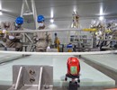 Technicians carrying out manually the insulation of the joggle, PF6 Coil Manufacturing Workshop, ASIPP China