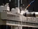 A forging being machined