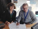 F4E signing the transfer of the ownership and responsibility of the first ISEPS unit to the ITER Organization