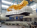 Europe's first Toroidal Field coil winding pack to undergo cold tests, SIMIC, port of Marghera, Italy © SIMIC