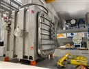 MITICA beam source vacuum vessel delivered to ITER Neutral Beam Test Facility, Consorzio RFX, Padua, Italy. The component has been manufactured by De Pretto Industrie and financed by F4E.