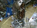 The clip shows that the six year assembly of JT-60SA is moving forward: the heart of the machine, the vacuum vessel, is now being built.