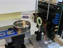 Test set-up to validate the performance of the demonstrator using a real-size ITER weld © F4E