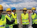 MEP Martina Dlabajová (fourth from the left) visiting the ITER site.