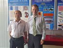 From right to left: F4E Director J. Schwemmer with Chinese ITER Domestic Agency Director General Prof. D. Luo