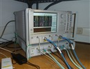 The Vector Network Analyser measuring device used to qualify ITER diagnostic components