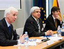 left to right: F.Briscoe, F4E Director, C. Varandas, F4E Governing Board Chairman, O.Quintana-Trias, European Commission, Euratom Director