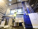 The milling machine inaugurated at the Water Tosto facility for the manufacturing of the ITER vacuum vessel sectors (image courtesy of Waldrich Coburg)