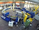 The Poloidal Field coils winding tooling table, SEA ALP workshop, Turin (Italy).