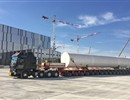 The GN2 buffer tank, part of ITER's Cryogenic system, has been delivered on-site, Cadarache, October 2017.
