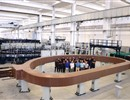 First impregnated winding pack, the core of an ITER Toroidal Field coil, ASG Facility, La Spezia, Italy
