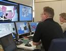 Experts testing the Remote Handling system platform in Divertor Test Platform 2, Finland.