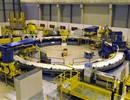 The first complete layer using a dummy conductor reflecting the dimensions of ITER's fifth Poloidal Field coil, Cadarache, November 2016