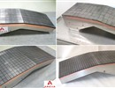 Semi-prototypes of the Blanket First Wall panels which contain beryllium