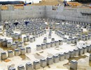Tokamak complex panoramic view with all plinths in place, April 2011