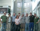 The ICAS AND F4E teams in front of the first production TF conductor length