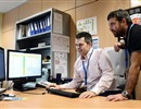 (Left to right) Ivan Bénilan and Gonçalo Serra, members of F4E's Technical Process Integration Team, demonstrating the ITER components database.