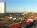 Progress on the NBTF site: The construction of buildings is moving ahead.