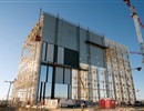 Cladding Cladding of the East façade of the Assembly Building has started – November 2015