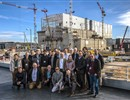 Experts contributing to the partial Preliminary Design Review of the Neutral Beam Remote Handling system procured by F4E, on the ITER site, January 2020.