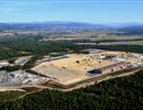 Aerial view of the ITER construction site