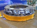 Europe (F4E) and China (ASIPP) complete manufacturing of Poloidal Field coil six (PF6). The magnet, which weighs 400 t and has a diameter of 10 m, was unveiled at the ceremony which took place in the workshop of ASIPP, Hefei, China, September 2019.